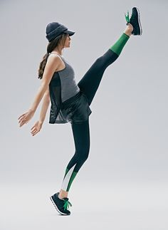 From the Fall 2015 Derek Lam 10C x Athleta design collaboration