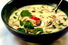 Tom kha gai or Thai Coconut Soup Recipe Read more: http://www.pinoyrecipe.net/tom-kha-gai-or-thai-coconut-soup/#ixzz2tZEw0oQg Follow us: @pinoy_recipes on Twitter | PinoyRecipedotnet on Facebook http://www.pinoyrecipe.net/tom-kha-gai-or-thai-coconut-soup/