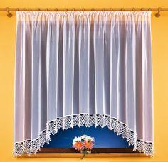 Kos (S) - Świat Firan Valance Curtains, Home Decor, Blinds, Home Decoration, Decoration Home, Room Decor, Home Interior Design, Valence Curtains, Interior Design