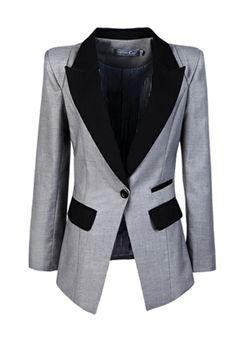 Structured blazer.