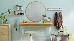 Make Space for Makeup: DIY This Home Beauty Bar — Sponsored By Command™ Brand