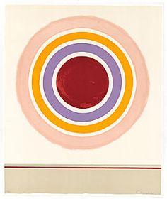 """""""Blush 1978"""", Kenneth Noland"""