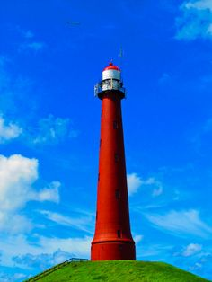Lighthouse, IJmuiden, the Netherlands
