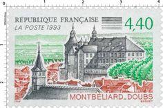 Timbre : 1993 MONTBÉLIARD - DOUBS | WikiTimbres