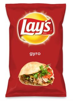 Wouldn't gyro be yummy as a chip? Lay's Do Us A Flavor is back, and the search is on for the yummiest flavor idea. Create a flavor, choose a chip and you could win $1 million! https://www.dousaflavor.com See Rules.