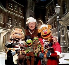 Michael Caine as Scrooge in The Muppet Christmas Carol