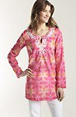 Misses > artistic beaded & embroidered tunic at J.Jill