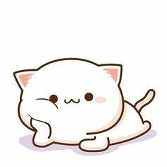 Peach (bujuexiaoxiao) creationAdmiring Peach (bujuexiaoxiao) creation Tuagom Puffybear GIF - Tuagom Puffybear Kiss GIFs 33 Gatitos Kawaii ¡para comérselos a besos! Cute Bear Drawings, Cute Cat Drawing, Cute Kawaii Drawings, Doodles Kawaii, Cute Doodles, Cute Kawaii Animals, Kawaii Cat, Kawaii Anime, Chibi Cat