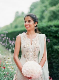 A seriously stunning bridal look: http://www.stylemepretty.com/collection/2745/