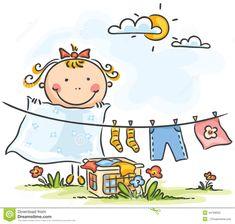 ilustraciones dia de lavar ropa - Buscar con Google