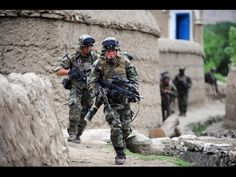 French Army In Heavy Firefight During Intense Clashes With Taliban In Afghanistan - YouTube