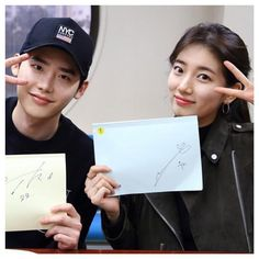 """2,694 Me gusta, 5 comentarios - Bae Suzy 배수지 (@bae_suzy) en Instagram: """"Lee Jong Suk, Suzy, and the cast of 'While You Sleep' are all smiles at their 1st script reading! ✨"""" Korean Dramas, Korean Actors, Suzy Drama, Uncontrollably Fond, My Love From The Star, Suwon, Dream High, While You Were Sleeping, Love Film"""