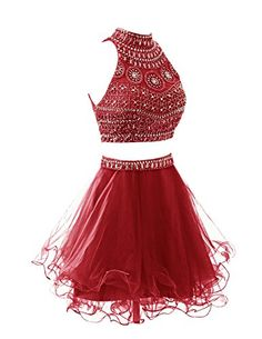 Wedtrend Women's Short Two Pieces Homecoming Dress with Beads Party Dress WT10157 Dark Red 2 Wedtrend http://www.amazon.com/dp/B015DMOIFM/ref=cm_sw_r_pi_dp_Ymt-vb132ZK5K