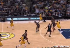 Indiana's Paul George Throws Down the 'Take Your Considerable **** Back to South Beach' Dunk on LeBron James [VIDEO] | FatManWriting