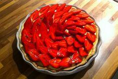 Tarte aux fraises maison ! Pâte et crème pâtissière au thermomix