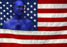 On this Election Day, I stand for the red, white, and blue man. - Imgur