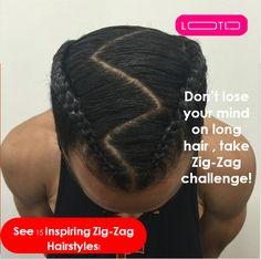Afro Hairstyles For Kids, Mens Braids Hairstyles, American Hairstyles, Zig Zag Braid, Hair Ponytail, Cornrows, Medium Hair, Braid Styles, Curly