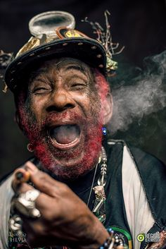 "Lee ""Scratch"" Perry  presso Rototom Sunsplash"