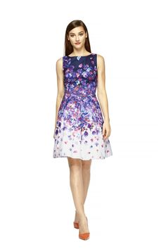 Floral Dance Dress from Kay Unger