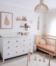 Ikea Baby Nursery, Baby Boy Room Decor, Baby Room Design, Baby Bedroom, Baby Boy Rooms, Nursery Room, Girl Room, Baby Room Neutral, Nursery Neutral