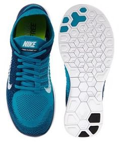 Nike Free 4.0 Flyknits. I love the honeycomb cuts on the bottom that allow your shoe to twist when you do