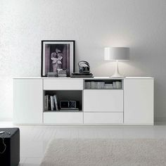 Sideboard Basic by Santarossa. Sleek, minimalist design.