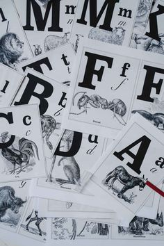L'alphabet des animaux pour apprendre a lire et écrire Rhinoceros, Cogs, Art Graphique, F 1, Activities For Kids, Photo Wall, Children, Illustration, Poster