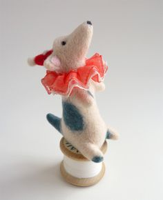 pinterest felted circus animals - Google Search