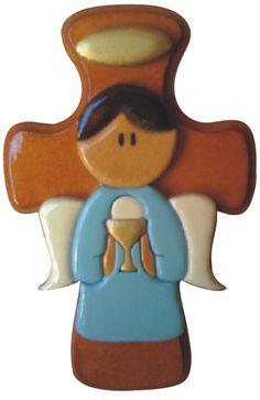 Resultado de imagen para angeles en madera mdf