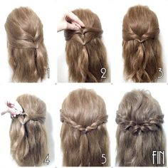 What's the Difference Between a Bun and a Chignon? - How to Do a Chignon Bun – Easy Chignon Hair Tutorial - The Trending Hairstyle Curly Hair Updo, Natural Hair Updo, Curly Hair Styles, Natural Hair Styles, Updo Cabello Natural, Hair Arrange, Mid Length Hair, Braided Updo, Hair Hacks