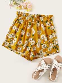 To find out about the Frill Trim Elastic Waist Floral Print Shorts at SHEIN, part of our latest Shorts ready to shop online today! Fashion Pants, Boho Fashion, High Waisted Shorts, Casual Shorts, Corduroy Shorts, Boho Girl, Boho Look, Aliexpress, Colorful Fashion