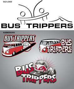 Bus Trippers Logo revision - update  ©  Fluid ©  www.fluiddsn.com