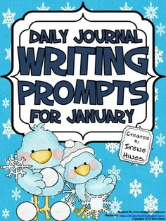 $5 Daily Journal Writing Prompts For The Month Of January and The Season Of Winter {Based On Common Core Standards}~ Perfect For Writing Workshop! This resource and writing activity unit includes:~ 8 Journal Covers for you to choose from depending on your preference.~ Reference Pages:* January Word Bank to aide students with spelling* Writer's checklist for students to remind them what to focus on while writing. 22 January Writing Prompts:  22 Blank Writing Stationary That Match: