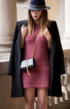 casual dress and borsalino