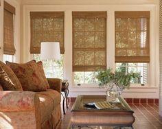 bambus faltrollos für die wohnzimmerfenstern
