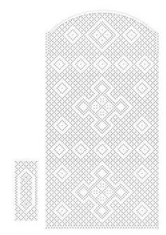 Resultado de imagen de patrones de bolsos de encaje de bolillos Lace Bag, Bobbin Lace Patterns, Lacemaking, Needle Lace, Diy And Crafts, Miniatures, Knitting, How To Make, Accessories