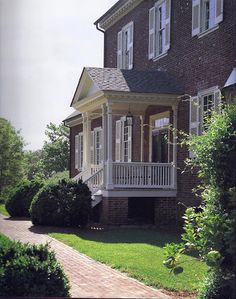 Ayr Mount, a Federal-period brick house built in 1814-16 by William Kirkland near Hillsborough, North Carolina  - Classical American Homes Preservation Trust