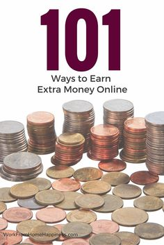There are plenty of legitimate ways to earn extra money online. Here's 101 of them. From usability testing to micro jobs, there's something for everyone!