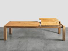 Uitschuifbare tafel Aken - van de Tafelfabriek. Prachtig design, kwaliteit en innovativiteit