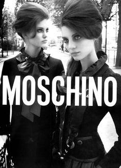MOSHINO FW05 - Marina Perez and Charlotte D by Michelangelo Di Battista