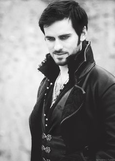 Captain Hook.  Once Upon A Time: Making ugly characters inevitably gorgeous.