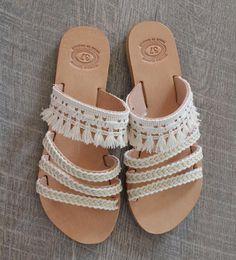 Sandales de mariage. Sandales en cuir. Sandale de mariage