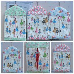 American Girl Doll Zippered Travel Garment by TallulahSophieToo, $45.00