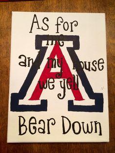 University of Arizona canvas
