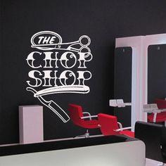 Wall decal vinyl art decor scissors shaver by DecorWallDecals, $28.99
