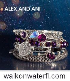 #AlexandAni at #WalkOnWater in #LakeMary and #WinterPark #Florida.  #stackem #bracelets #bangles #HolidayGift