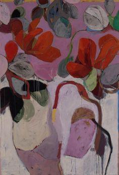 Anne-Sophie Tschiegg: Exposition Musée de beaux-arts Mulhouse - Home Painting & Drawing, Museum Of Fine Arts, Art Museum, Botanical Art, Painting Inspiration, Flower Art, Modern Art, Contemporary Artists, Illustration Art