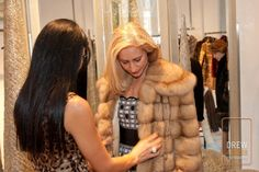 Andre and Lisa Bisang Present Fall 2011 Fur Collection at SAKS