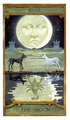 The Moon - Prediction Tarot