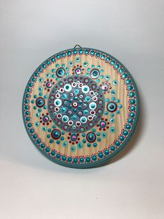 A personal favorite from my Etsy shop https://www.etsy.com/listing/546192044/original-mandala-painting-on-wood